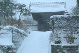 暴風雪の長寿寺