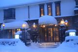 雪降る歐林洞