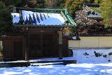 英勝寺 雪景色