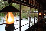 鎌倉 去来庵の雪見庭園