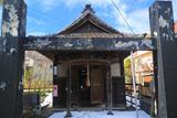 鎌倉 残雪の辻薬師堂