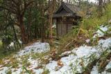 稲村ガ崎 斑雪の白山神社