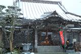 雪の日の妙典寺