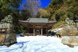 鎌倉 梶原御霊神社の雪景色