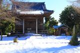 雪景色の上町屋天満宮