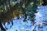 鎌倉 北野神社参道の雪景色