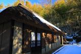 残雪の旧石井家住宅
