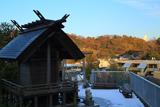鎌倉 残雪の岡本神社