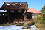 横浜 残雪の光明院