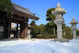 金沢 残雪の薬王寺