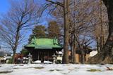 残雪の金沢八幡神社