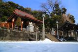 残雪の瀬戸神社