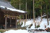 鎌倉 雪景色の白山神社
