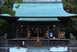 岩瀬 残雪の五所稲荷神社