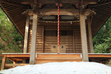 残雪の八雲神社