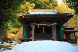 鎌倉 残雪の三嶋神社