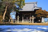 鎌倉 残雪の厳島神社