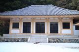 残雪の松久寺
