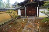 聚光院 雪降る玄関