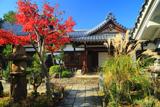 西向寺 紅葉と玄関