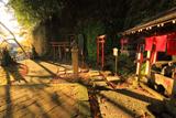 野島公園 夕照の野島稲荷神社