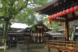 護王神社 降雪の社殿