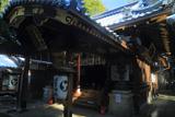 白雲神社 屋根雪の拝殿