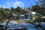 妙光寺 雪景色の庫裏