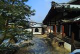 妙光寺 淡雪の方丈