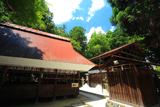 大将軍神社の夏空