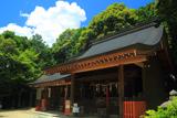 京都岩倉 夏空と幡枝八幡宮